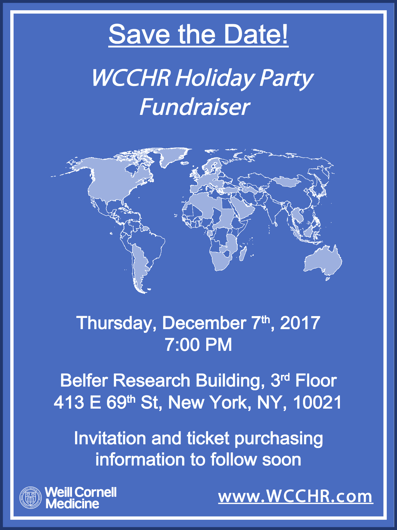 WCCHR Holiday Party December 7th 2017